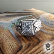 Перстень «Сила и Слава» с рунами Старшего Футарка фото 11