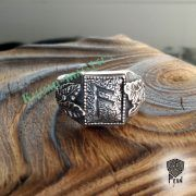 Перстень «Сила и Слава» с рунами Старшего Футарка фото 12