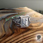 Перстень «Сила и Слава» с рунами Старшего Футарка фото 13