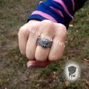 Перстень «Сова» фото 5