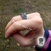Перстень «Сова» фото 4