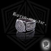 Кольцо «Танцующий журавль» фото 3