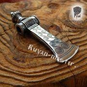 Серебряная подвеска «Топор боевой-скандинавский» фото 3
