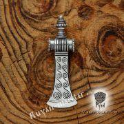 Серебряная подвеска «Топор боевой-скандинавский» фото 5
