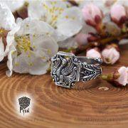 Серебряное кольцо «Феникс» фото 5