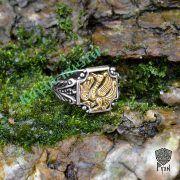 Серебряное кольцо «Феникс» фото 4