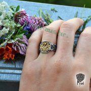 Серебряное кольцо «Феникс» фото 3