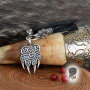 Шнур/браслет «Волки кусачие» из натуральной кожи фото 5