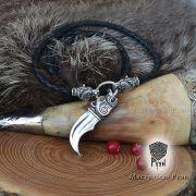 Гайтан шнур «Медведи» из натуральной кожи фото 2