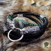 Шнур/браслет «Рыси кусачие» из натуральной кожи фото 9