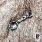 Подвеска Ложка-загребушка из серебра фото 4