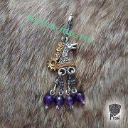 Подвеска «Конь-Огонь» с камнями фото 1