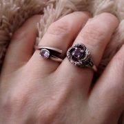 Кольцо «Змеевик» с камнем фото 4