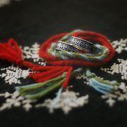 Обручальные кольца «Обережное» из серебра фото 7
