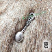 Подвеска Ложка-загребушка из серебра фото 3