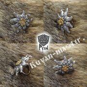 Кольцо «Эдельвейс» фото 2