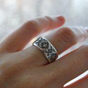Обручальные кольца «Обережное свастичное» фото 4