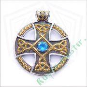 Подвеска «Солнечный крест» фото 6