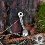 Подвеска Ложка-загребушка из серебра фото 2