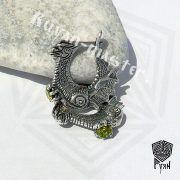 Серьги «Драконы, охраняющие сокровище» фото 4
