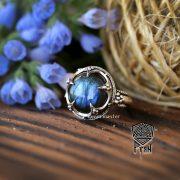 Серебряное кольцо «Готланд» фото 11