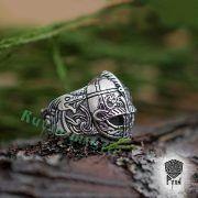 Перстень «Вендельский шлем» фото 6