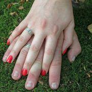 Обручальные кольца «Обережное» из серебра фото 4