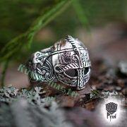 Перстень «Вендельский шлем» фото 1