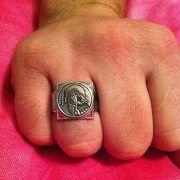 Кольцо «Волчий вой» фото 4