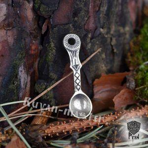 Подвеска Ложка-загребушка из серебра