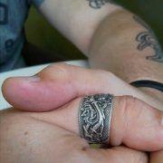 Кольцо «Мировой Змей» фото 5