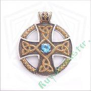 Подвеска «Солнечный крест» фото 5