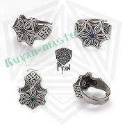 Перстень «Перунов громовой Цветок» фото 3