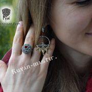 Перстень «Боярский с зернью» фото 3