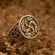 Перстень «Змеевик» фото 5