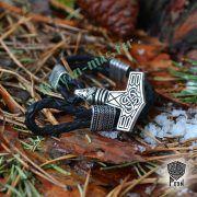 Браслет «Сила Тора» из натуральной кожи фото 4