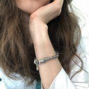 Универсальный браслет для сменных бусин фото 4