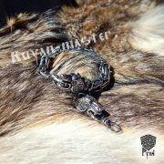 Браслет богатырский цепной «Медведи» фото 2