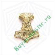 Молот Тора в золоте фото 1