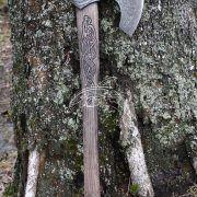 Кованый топор Смауг фото 2