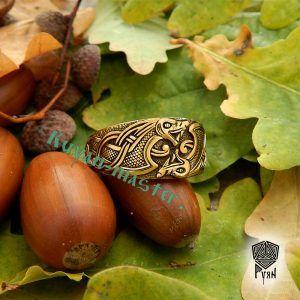 Золотое кольцо «Драконы викингов»