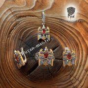 Кольцо «Огненный сокол Рарог» фото 5