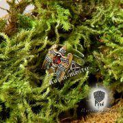 Кольцо «Огненный сокол Рарог» фото 3