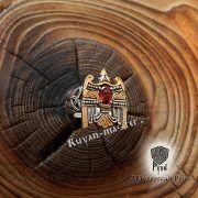 Кольцо «Огненный сокол Рарог» фото 2