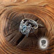 Кольцо «Огненный сокол Рарог» фото 7