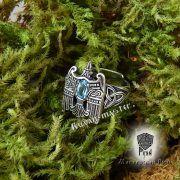 Кольцо «Огненный сокол Рарог» фото 1