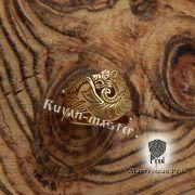Кольцо «Скифский волк». Золото фото 4