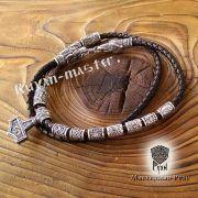Серебряная бусина Цветок Папоротника для браслета, бороды фото 4