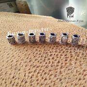 Серебряная бусина Цветок Папоротника для браслета, бороды фото 3