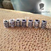 Серебряная бусина Цветок Папоротника для браслета, бороды фото 5